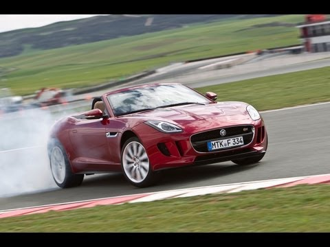 Jaguar F-type driven on road and track - www.autocar.co.uk