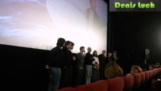 на первом в мире показе супер кино ДУХLESS 2 (Данила Козловский, Фёдор Бондарчук и…)