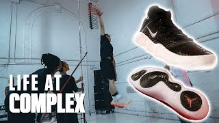 TESTING THE NIKE REACT TECHNOLOGY AT JORDAN TERMINAL 23! | #LIFEATCOMPLEX