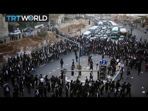 Jerusalem Protests: Orthodox Jews demonstrate against joining army