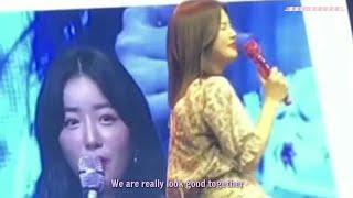 ENG SUB Apink Chorong and Bomi QnA at Chobom Fanmeet in Taiw…