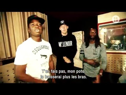DMC Ndongala prof de rap avec Kebano & Dewaest (FR)