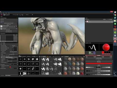 UDIM BRIDGE: Mari Zbrush  to Substance designer Painter  Quixel Suite PART4