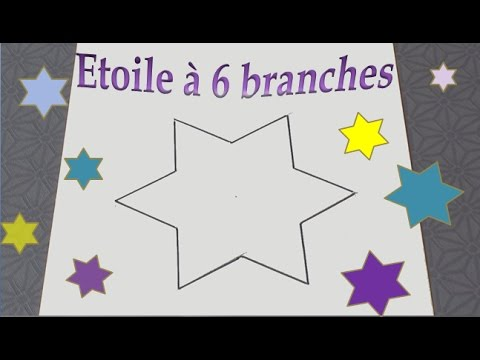 Comment Dessiner Une étoile à 6 Branches Facile