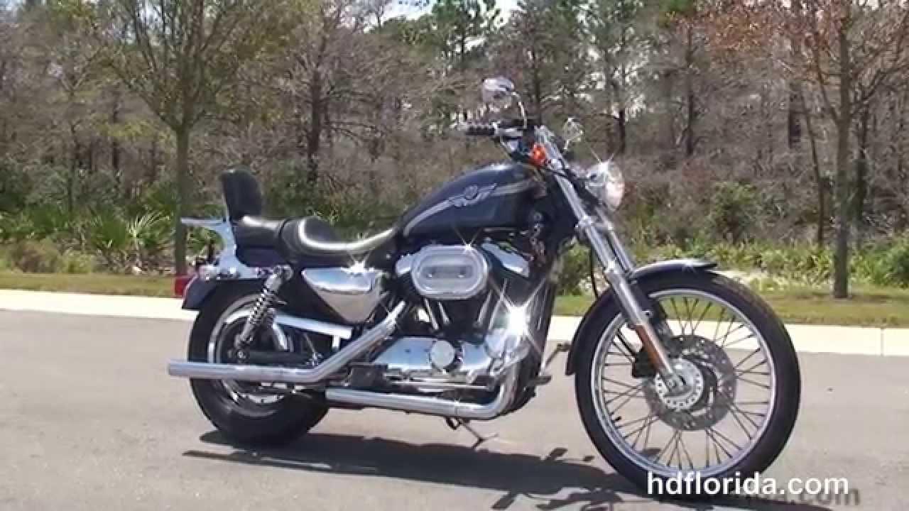 Used 2003 Harley Davidson Sportster 1200 Custom Motorcycles for sale