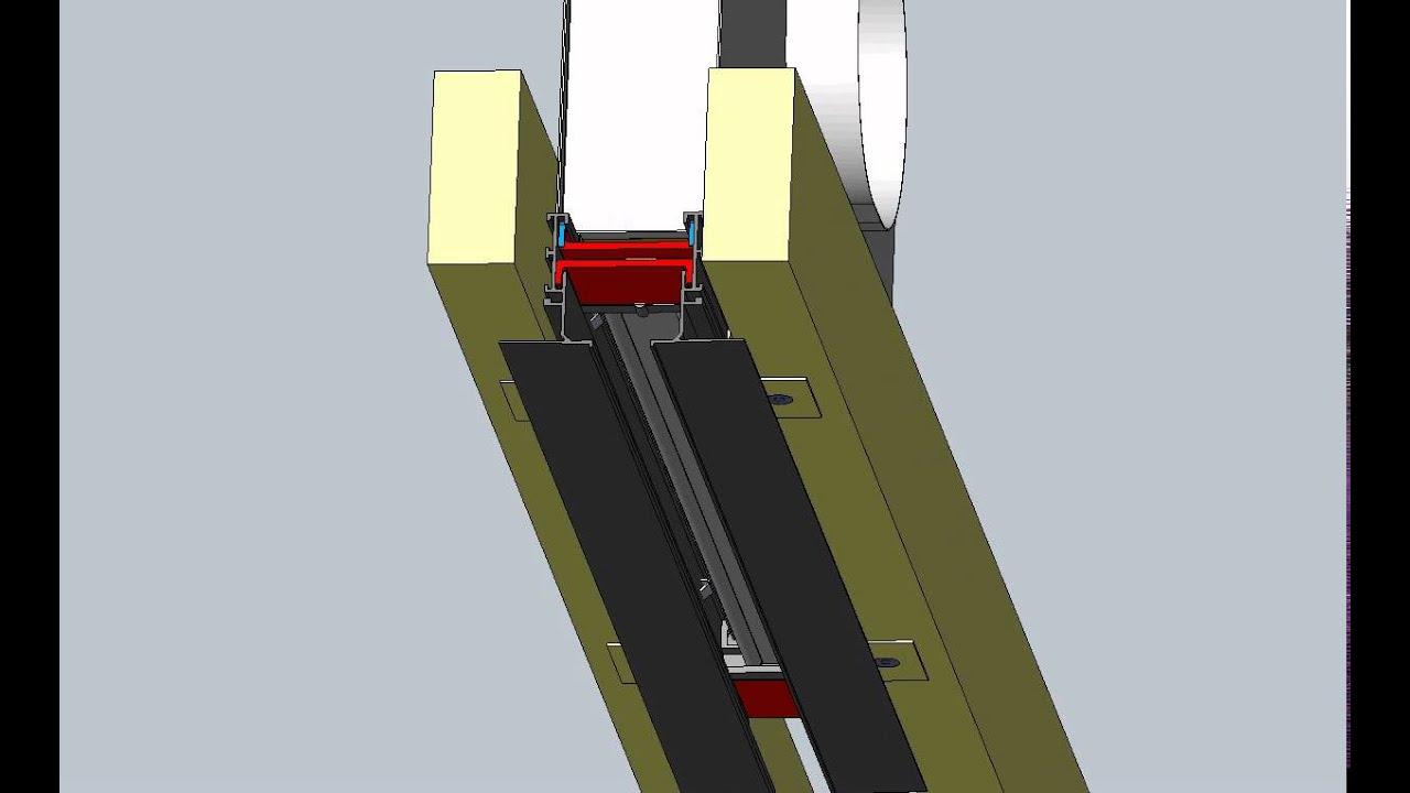 Krueger Linear Diffuser : Krueger model dfl designflo frame bb installation