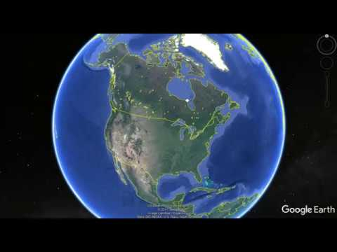 Google Earth - Alberta Tar Sands & Oil Fields - Windsor Salt
