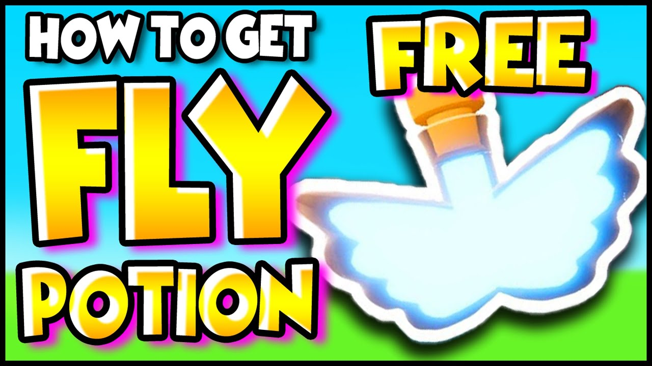 How To Get A Free Fly Potion In Adopt Me Roblox Without Robux 100 Free And Working Youtube