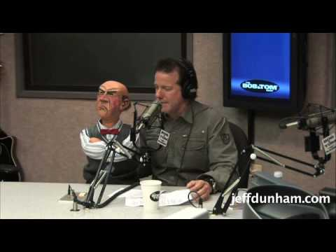Jeff Dunham & Walter on the Bob & Tom Radio Show Pt. 2