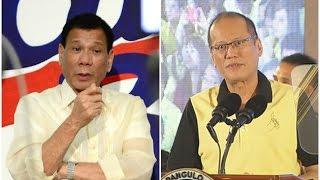 Duterte, hinamon si Pnoy na sibakin ang mga dawit sa