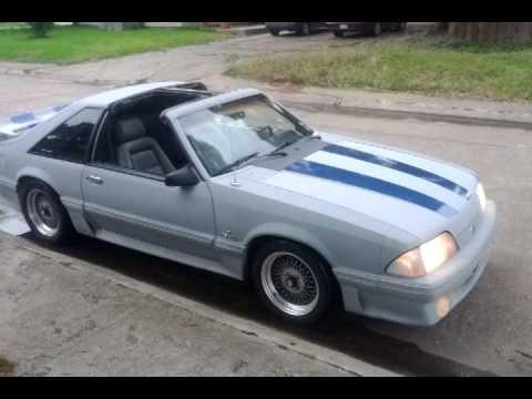 T Top Mustang >> 1988 Mustang T Top Youtube