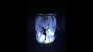 How to Make a Fairy Lantern in a Jar -- DIY