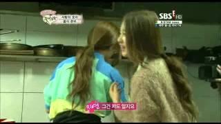Jiyeon hyomin food making cut