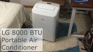 LG 8000 BTU Portable Air Conditioner Review