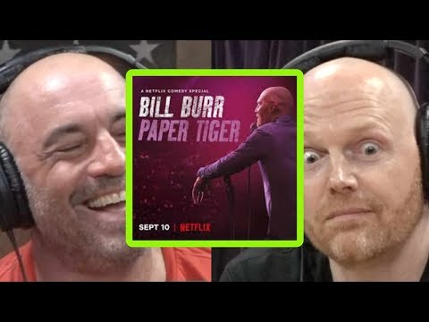 """Why Bill Burr Titled His Special  """"Paper Tiger"""""""