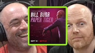 "Why Bill Burr Titled His Special  ""Paper Tiger"""