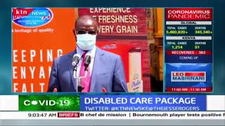 Persons living with disability in Meru receive care package from County Government