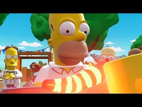 LEGO: Dimensions - The Simpsons - Mysterious Voyage of Homer [Bonus Level] (Gameplay Walkthrough)