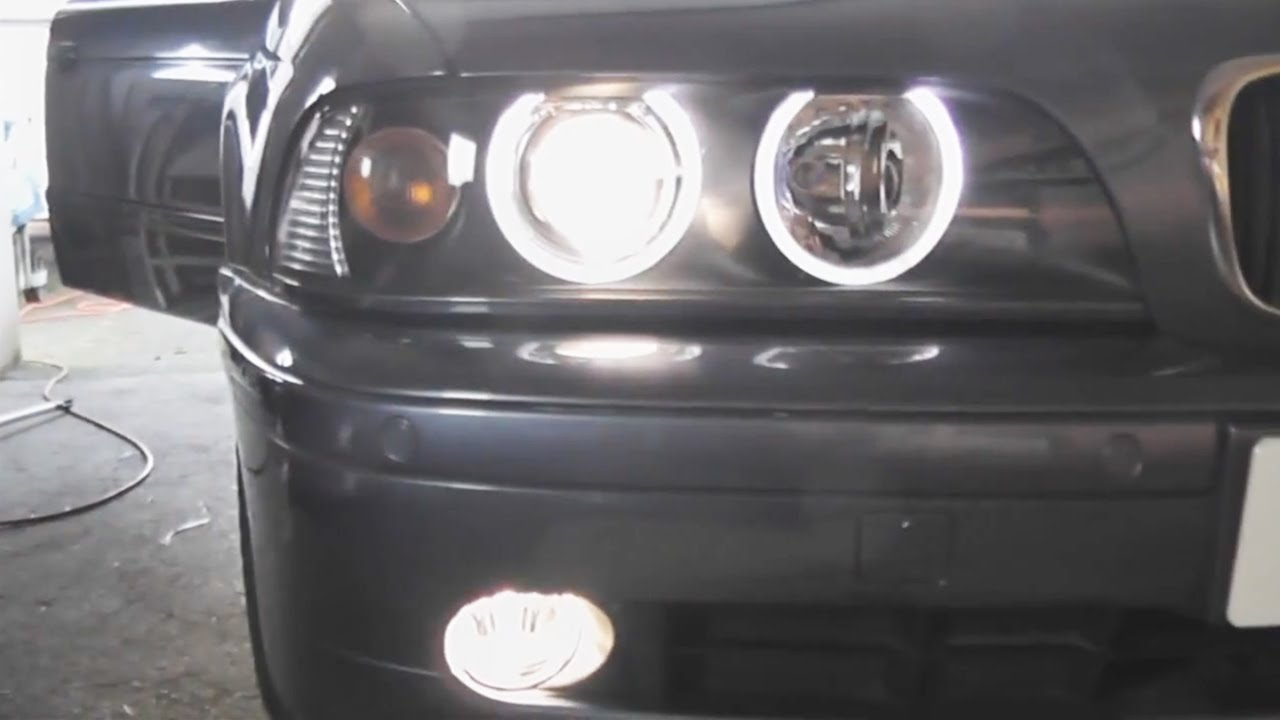BMW E39 5Series Fog Light Replacement DIY YouTube