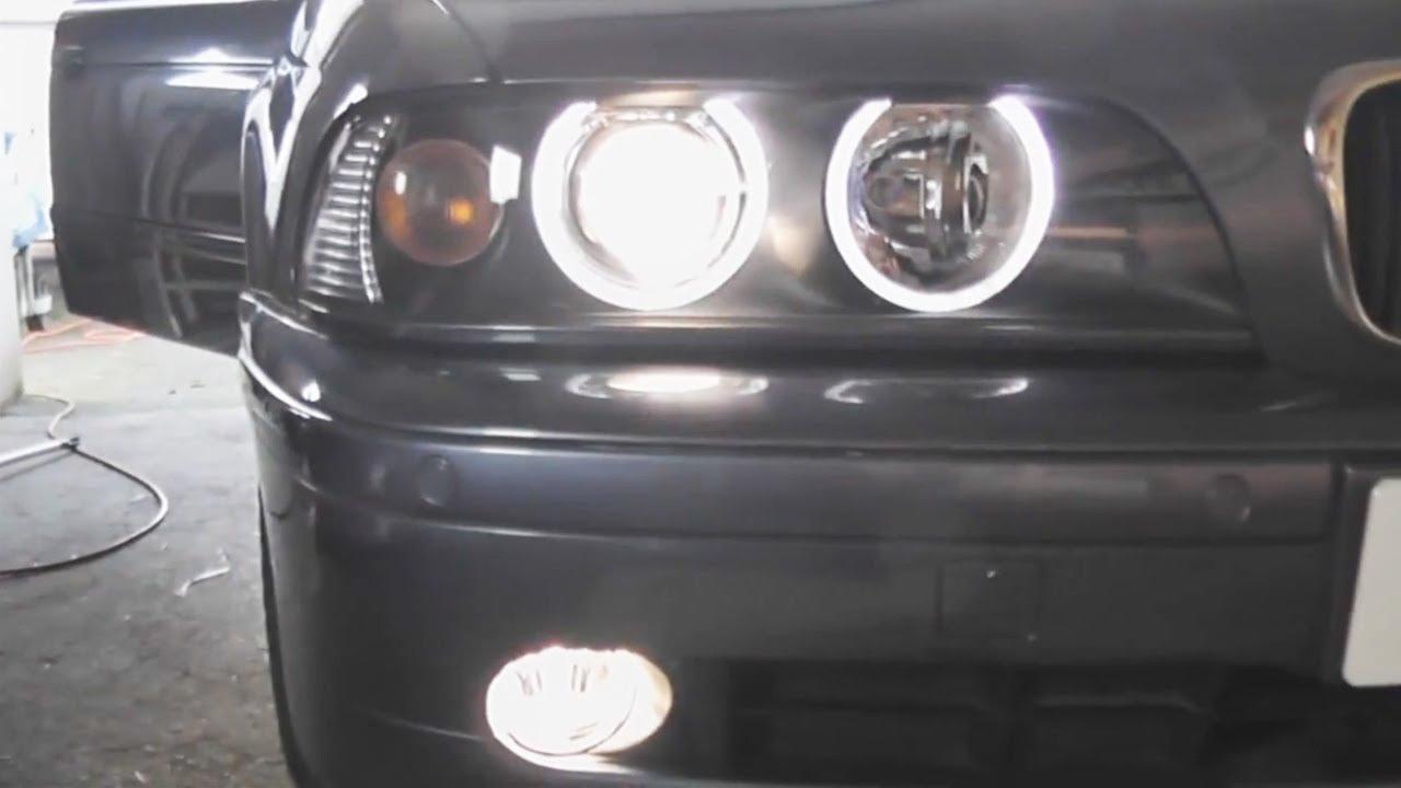 BMW E39 5Series Fog Light Replacement DIY  YouTube