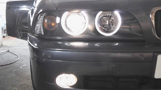 BMW E39 5-Series Fog Light Replacement DIY