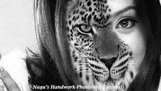 Wie erstellen Sie halb Mensch-Halb Tier-in Photoshop - Photoshop-Tutorials Von Nagu ' s Handarbeit