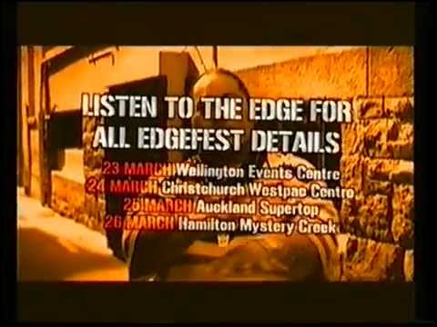 The Edge (NZ) Edgefest Commercial 2006