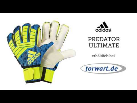 reputable site 546e2 dbbff Adidas Predator Ultimate   Torwarthandschuhe   Produktvideo