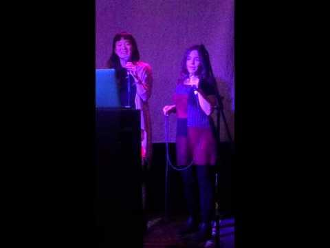 NCHRC karaoke Micha and Hyun