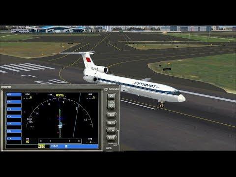 Гайд, Установка GARMIN (GPS) FSX на ТУ-154 б2 от Project Tupolev