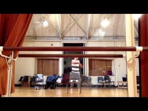 Aaron Heffernan Solo Rehearsal 2014