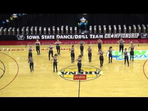 Iowa State University Dance Team 2014 STATE HIP-HOP CHAMPS!