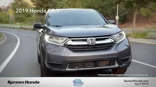 2019 Honda CR-V LX - Spreen Honda (April Specials)