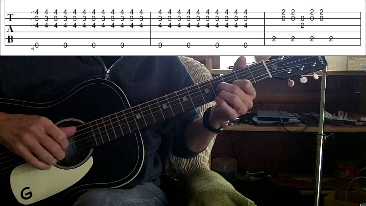 Quick Tips #4 - E Delta Blues ( Tab Included )