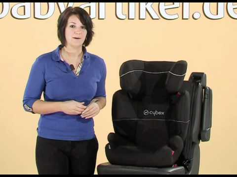 cybex free fix kindersitz youtube. Black Bedroom Furniture Sets. Home Design Ideas