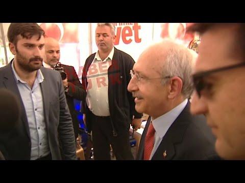 """Kemal Kılıçdaroğlu """"Evet"""" çadırında"""
