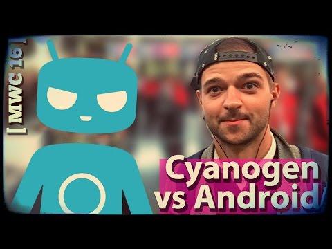 Cyanogen против Android на [MWC'16]