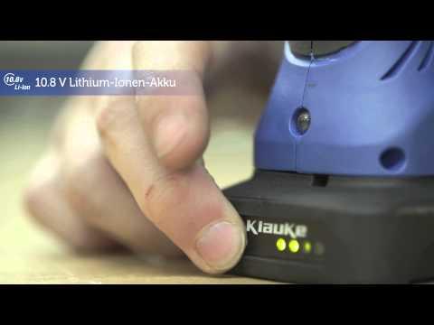 Elektromechanische Crimpzange - Die Klauke Micro EK50ML - So Gehts