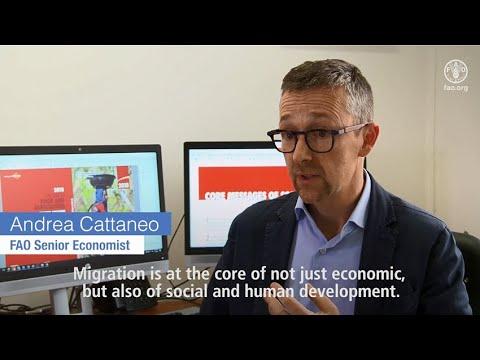 Make Migration work for all - FAO Senior Economist Andrea Cattaneo