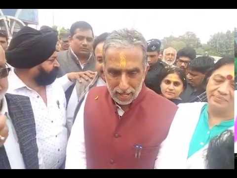 Minister Krishanpal Gurjar Greet People For bjp victory
