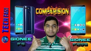 Gionee F6 And F205 Launched | Full Comparison | What This Phones Have ?