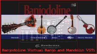 Cindy, Cindy (Traditional American Folk Song) Syntheway Banjodoline Virtual Banjo and Mandolin VSTi