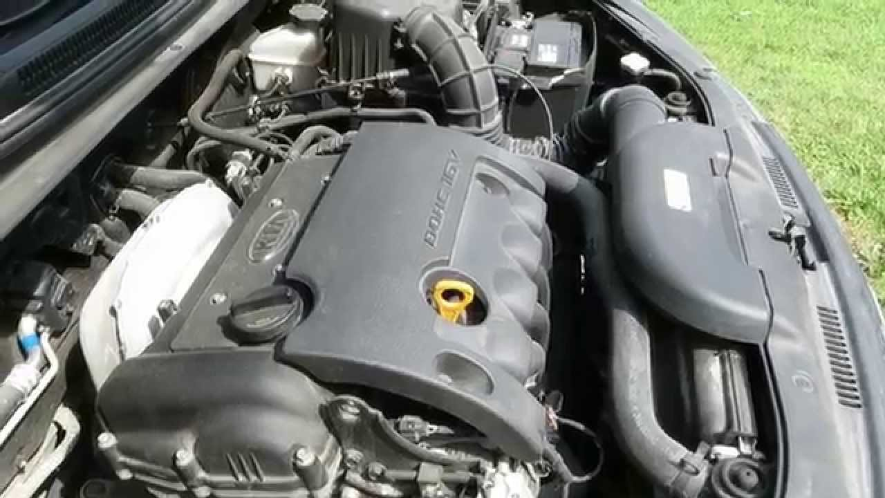 Kia Ceed Engine >> Kia Ceed Dohc Engine Youtube