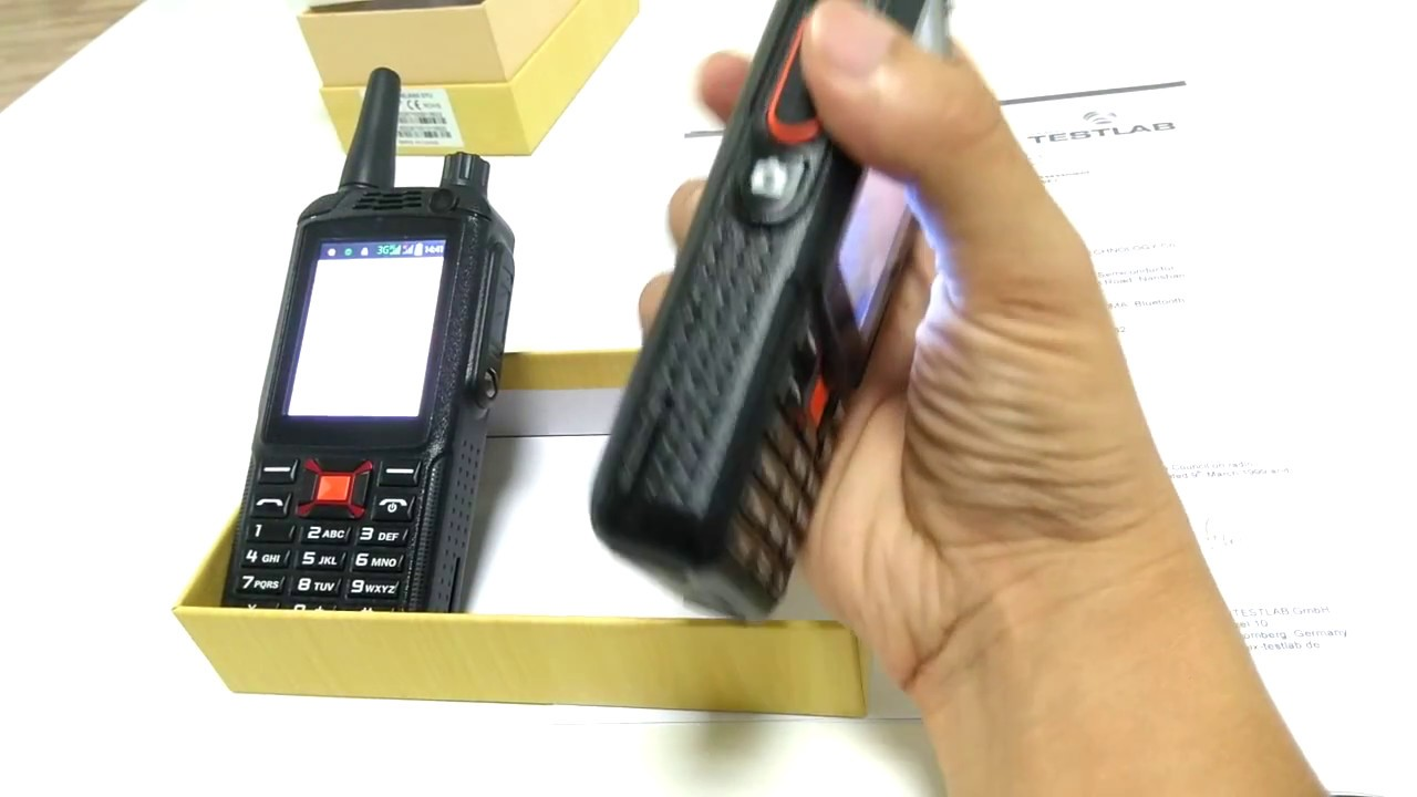 4G on AT/&T and T-Mobile Inrico T320 with VoicePing Walkie Talkie Software License