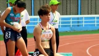 2016年臺灣國際田徑公開賽女子組100公尺預賽第2組