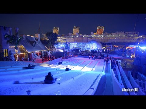 [4K] Ice Adventure Park -  CHILL at the Queen Mary 2017  - CHILL 2017