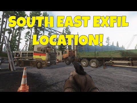 Escape From Tarkov South East Exfil Extraction