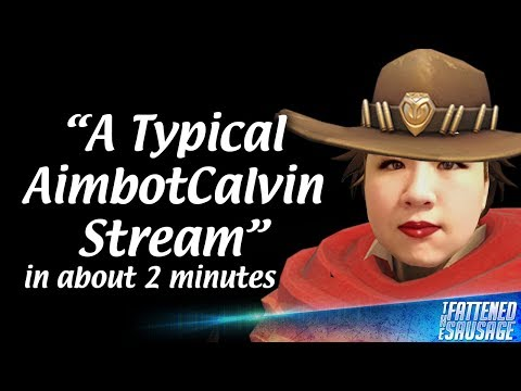 A Typical AimbotCalvin Stream In About 2 Minutes
