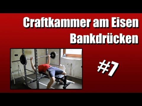 Craftkammer am Eisen #7 - Bankdrücken - 1x92 kg [+BONUS]