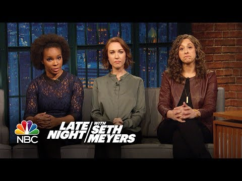 Women of Late Night React to Harvey Weinstein's Apology